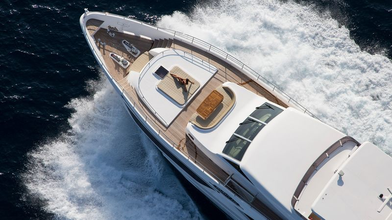 Drettmann Yachts - Drettmann sells Majesty 110 at very competitive rate