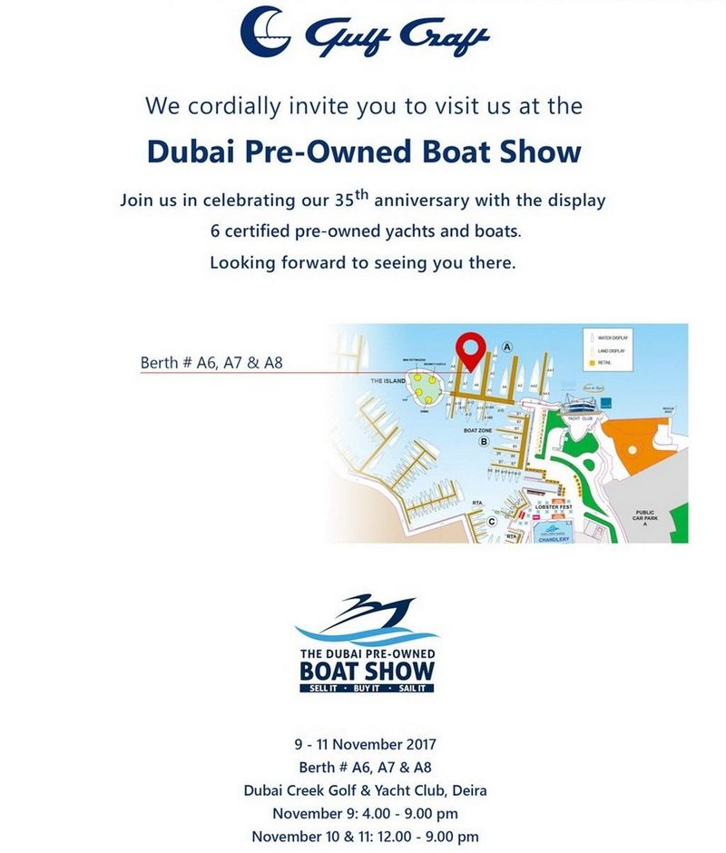 Drettmann Yachts - Dubai Pre-Owned Boat Show