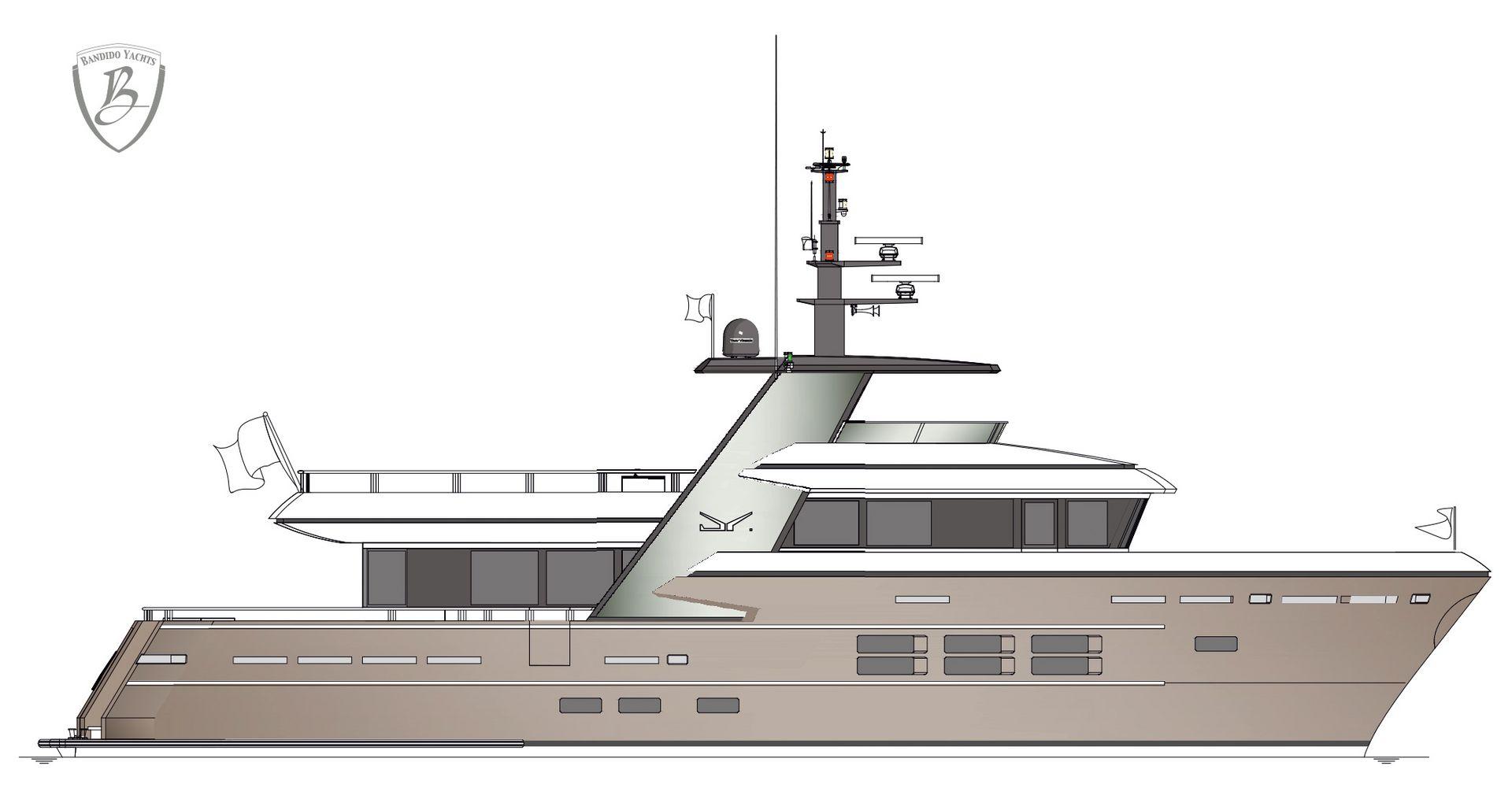 Bandido 90 - Bandido Yachts by Drettmann - Drettmann Yachts