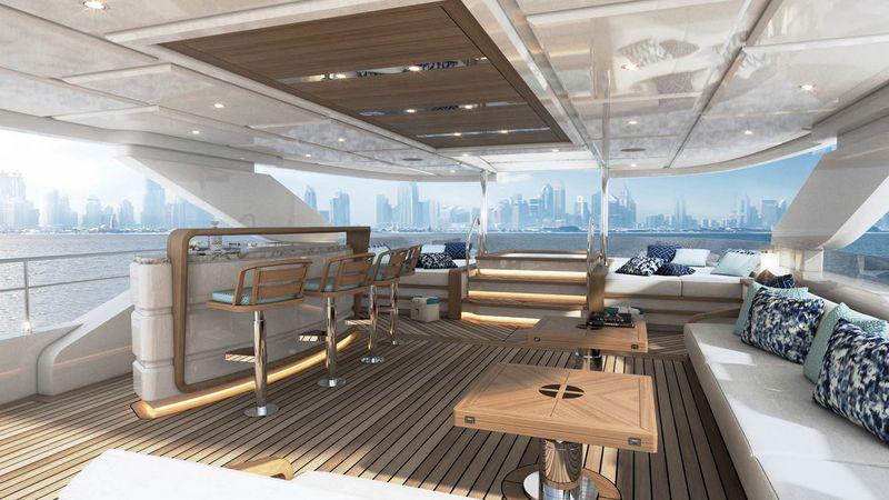 Drettmann Yachts - Superyacht without hydraulics