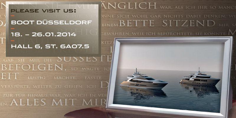 Drettmann Yachts - Boot 2014, Düsseldorf