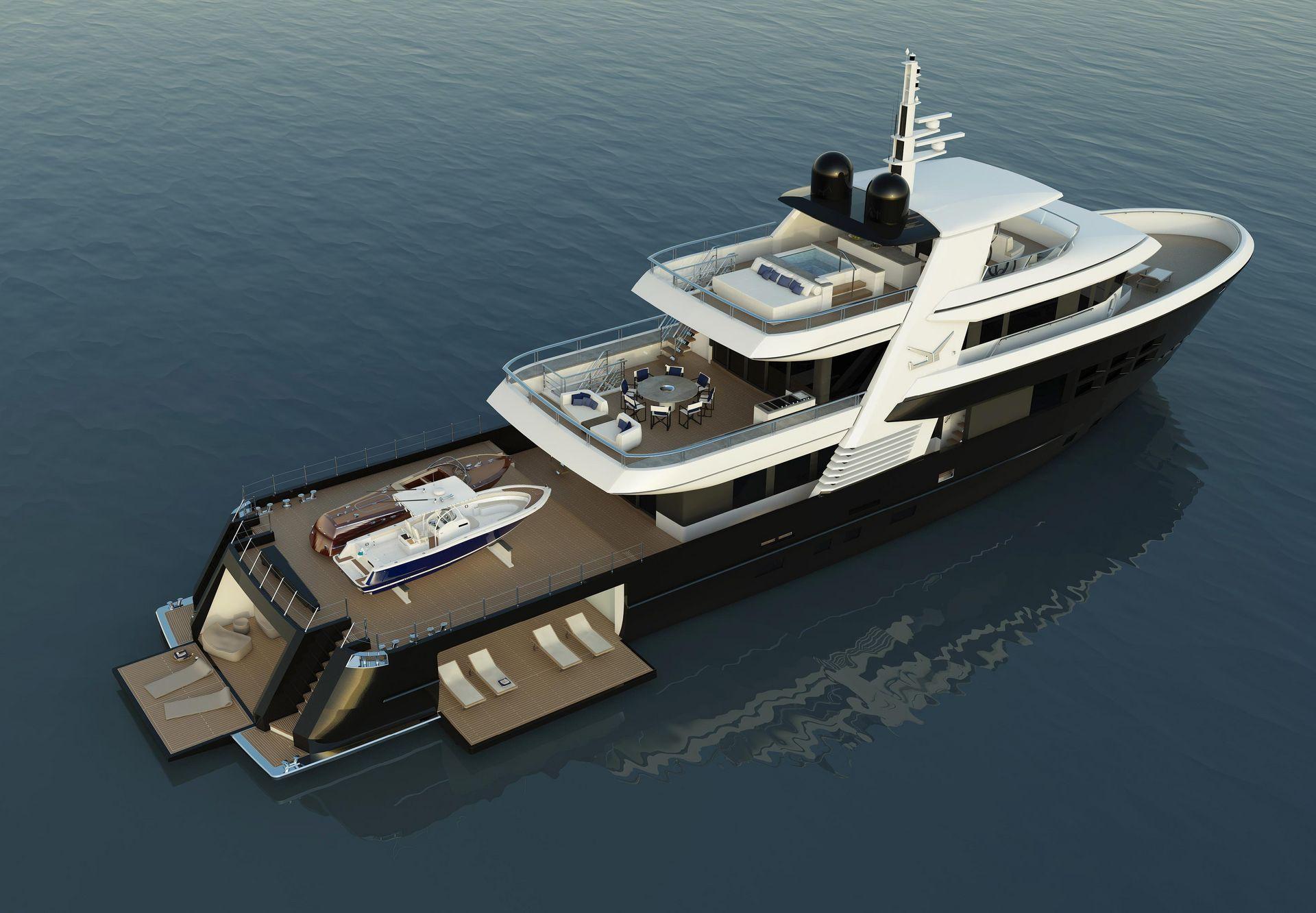 Exterior design of Bandido Yachts -  - Drettmann Yachts