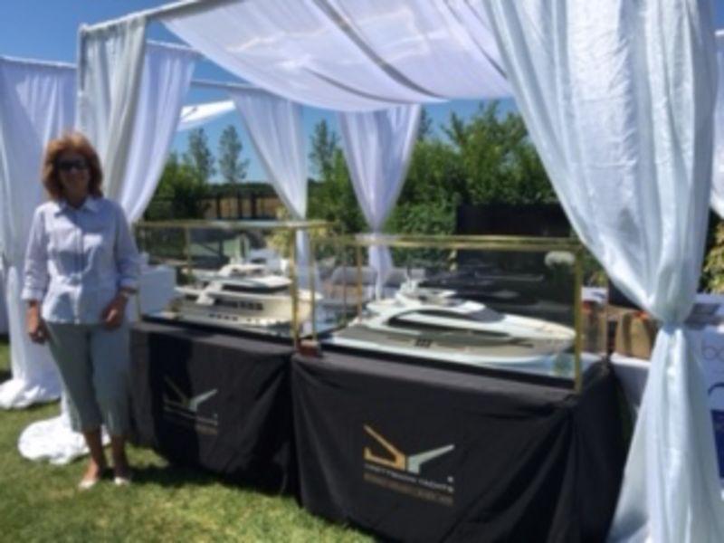 Drettmann Yachts - Drettmann at private brunch in the Hamptons