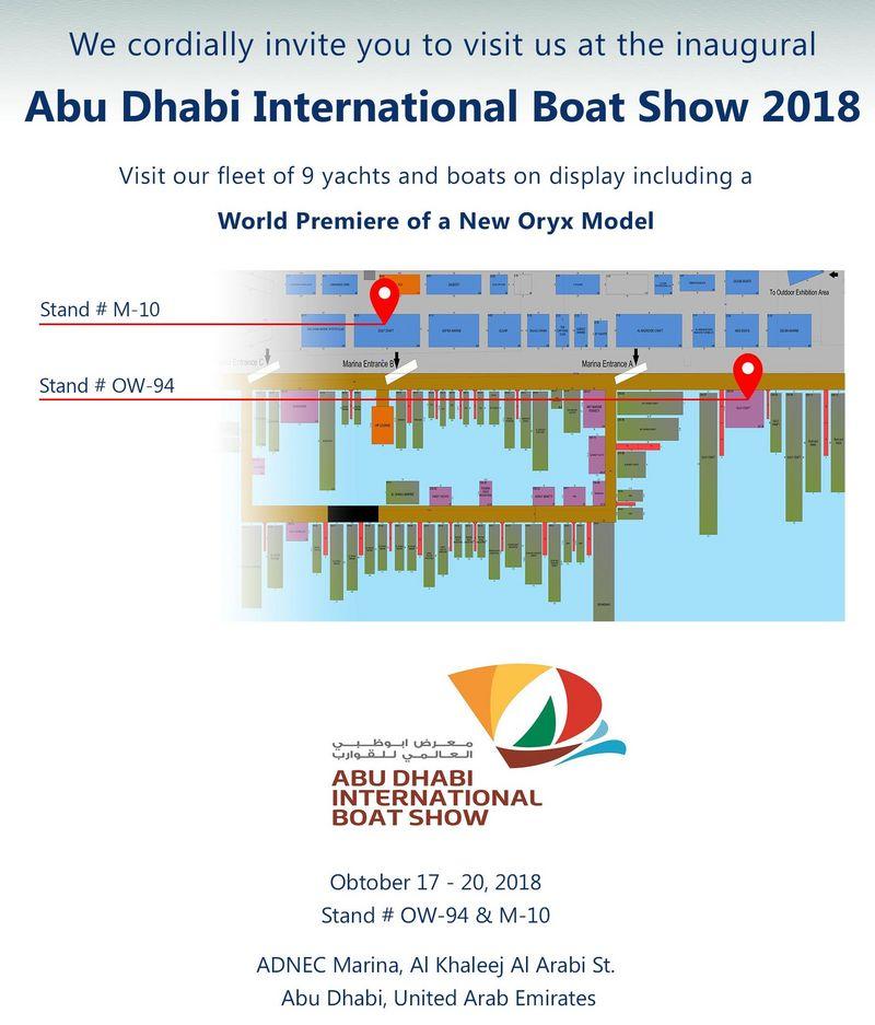 Drettmann Yachts - Abu Dhabi International Boat Show 2018