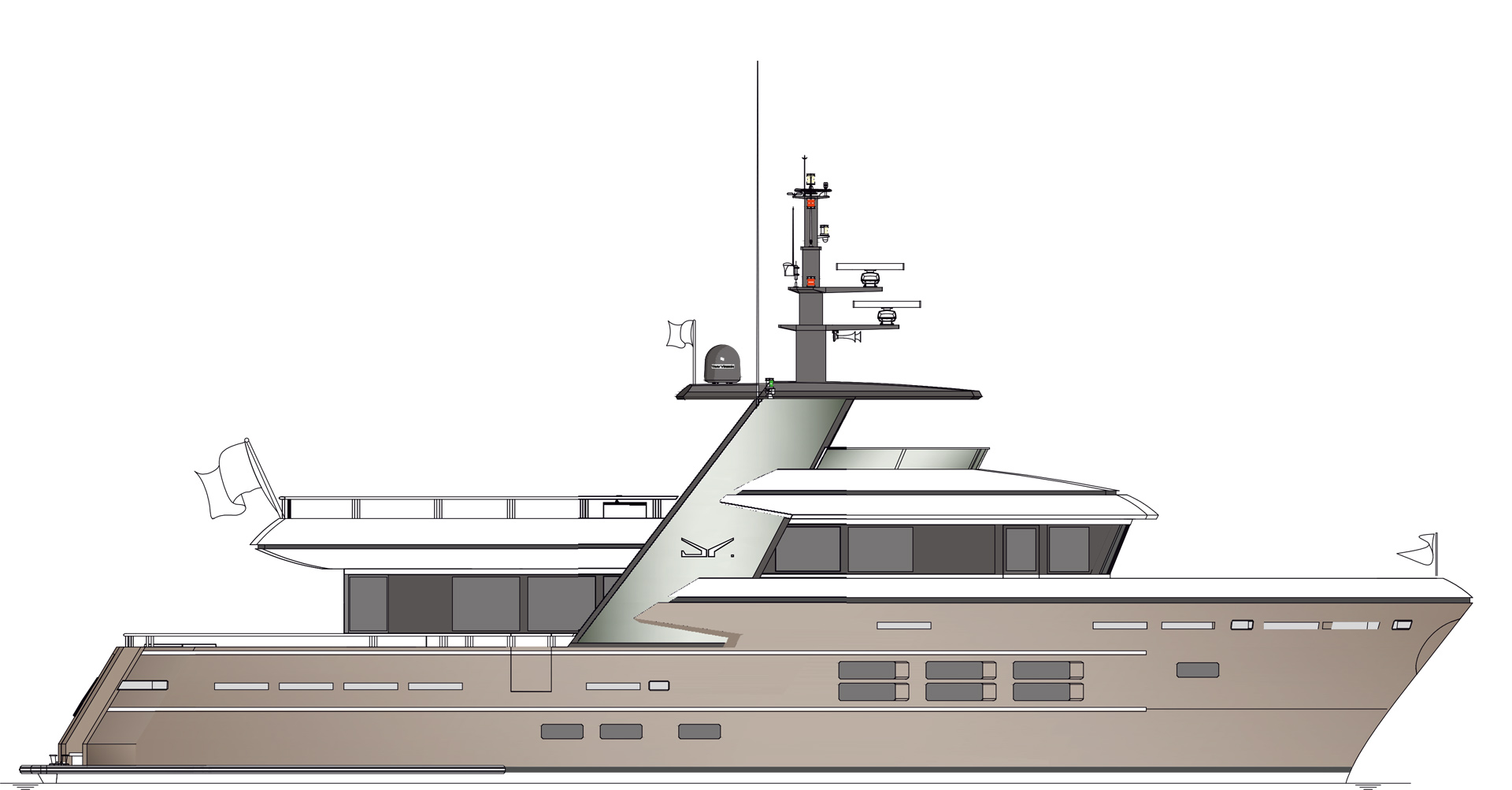 Construction and building process of Bandido Yachts -  - Drettmann Yachts