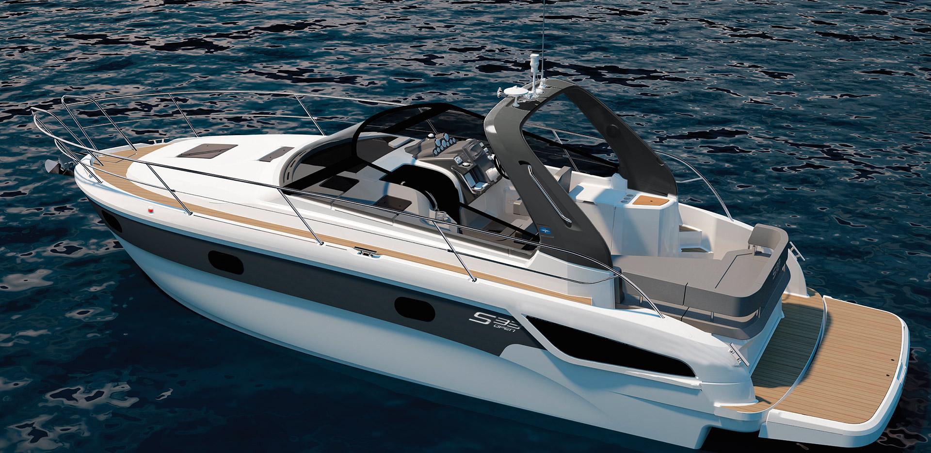 BAVARIA S33 Open - Bavaria Yachts - Drettmann Yachts