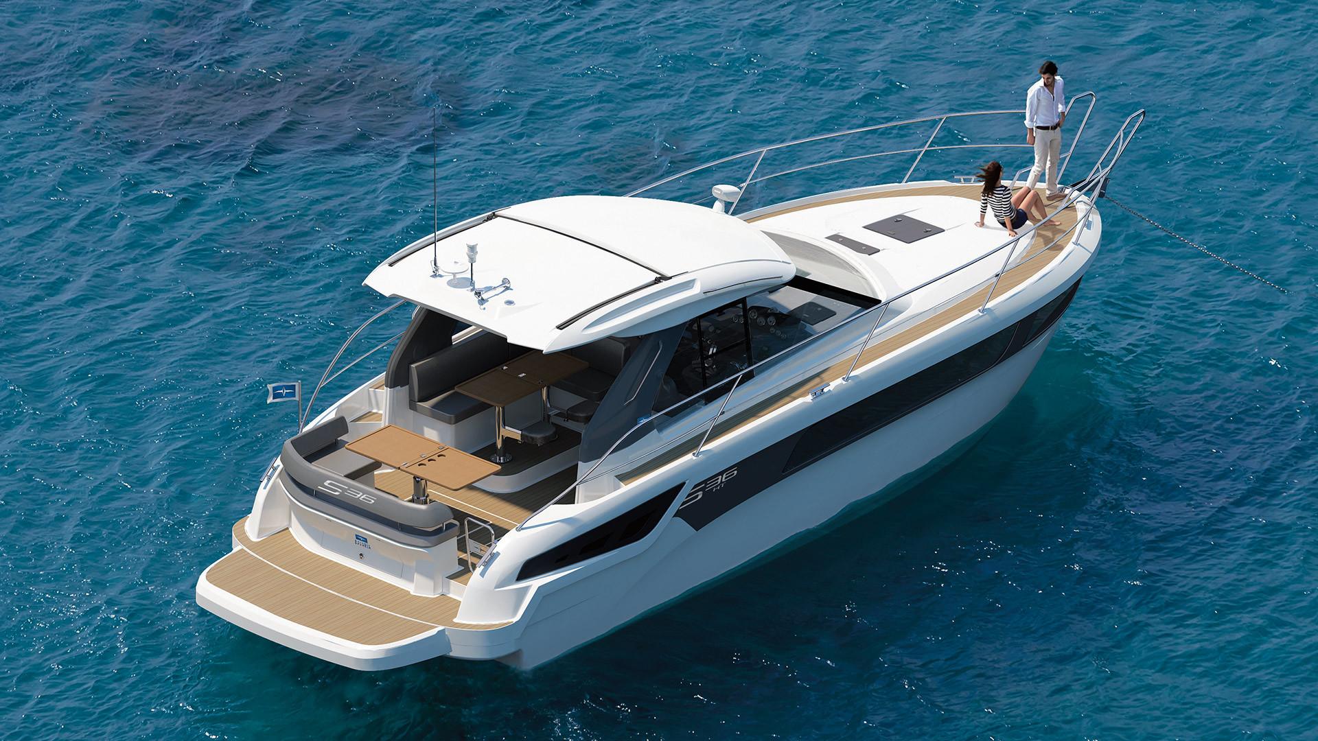 BAVARIA S36 HT - Bavaria Yachts - Drettmann Yachts