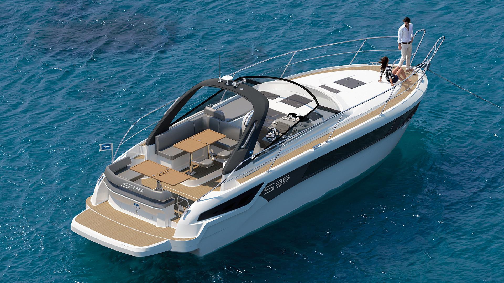 BAVARIA S36 Open - Bavaria Yachts - Drettmann Yachts