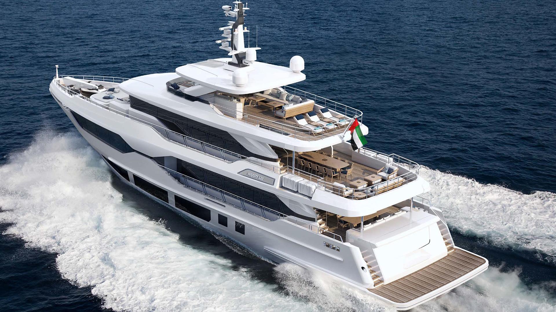 Majesty 120 - Majesty Superyachts by - Drettmann Yachts