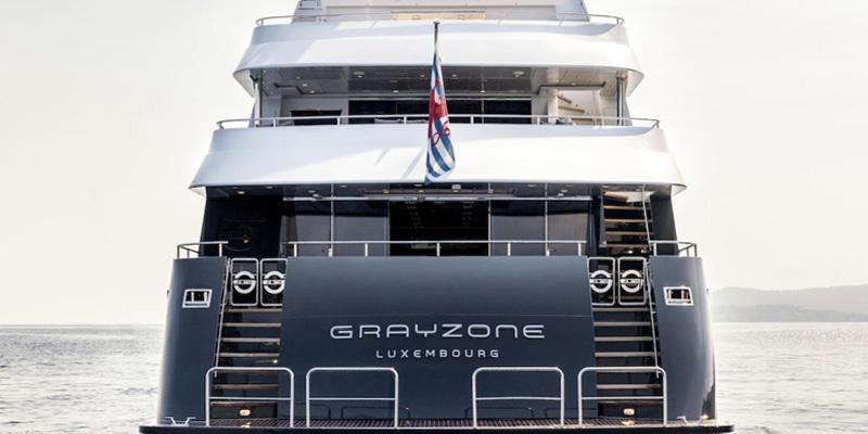 Drettmann Yachts - 42-metre GRAYZONE sold by Drettmann Yachts and KK Superyachts